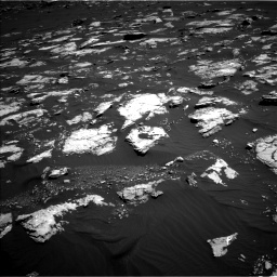 Nasa's Mars rover Curiosity acquired this image using its Left Navigation Camera on Sol 1578, at drive 762, site number 60