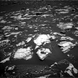 Nasa's Mars rover Curiosity acquired this image using its Left Navigation Camera on Sol 1578, at drive 768, site number 60