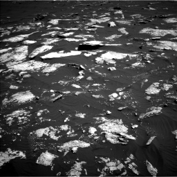 Nasa's Mars rover Curiosity acquired this image using its Left Navigation Camera on Sol 1578, at drive 792, site number 60