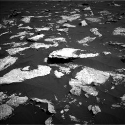 Nasa's Mars rover Curiosity acquired this image using its Left Navigation Camera on Sol 1578, at drive 810, site number 60