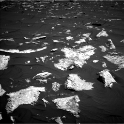 Nasa's Mars rover Curiosity acquired this image using its Left Navigation Camera on Sol 1578, at drive 834, site number 60