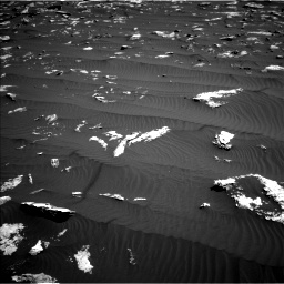 Nasa's Mars rover Curiosity acquired this image using its Left Navigation Camera on Sol 1578, at drive 882, site number 60