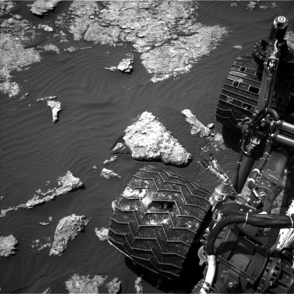 Nasa's Mars rover Curiosity acquired this image using its Left Navigation Camera on Sol 1578, at drive 888, site number 60