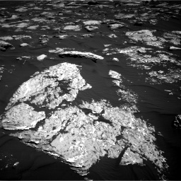 Nasa's Mars rover Curiosity acquired this image using its Right Navigation Camera on Sol 1578, at drive 732, site number 60