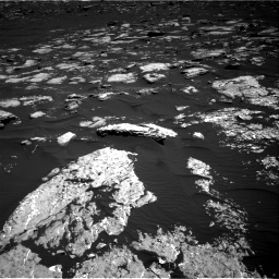 Nasa's Mars rover Curiosity acquired this image using its Right Navigation Camera on Sol 1578, at drive 738, site number 60