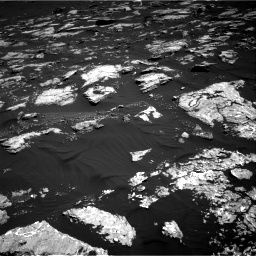 Nasa's Mars rover Curiosity acquired this image using its Right Navigation Camera on Sol 1578, at drive 756, site number 60