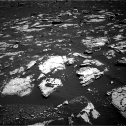 Nasa's Mars rover Curiosity acquired this image using its Right Navigation Camera on Sol 1578, at drive 768, site number 60
