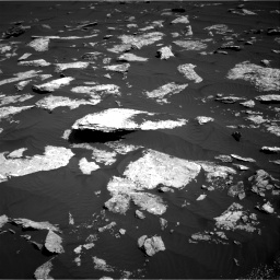 Nasa's Mars rover Curiosity acquired this image using its Right Navigation Camera on Sol 1578, at drive 810, site number 60