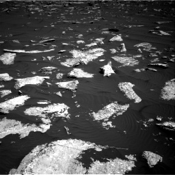 Nasa's Mars rover Curiosity acquired this image using its Right Navigation Camera on Sol 1578, at drive 822, site number 60