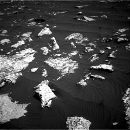 Nasa's Mars rover Curiosity acquired this image using its Right Navigation Camera on Sol 1578, at drive 852, site number 60
