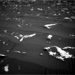 Nasa's Mars rover Curiosity acquired this image using its Right Navigation Camera on Sol 1578, at drive 882, site number 60