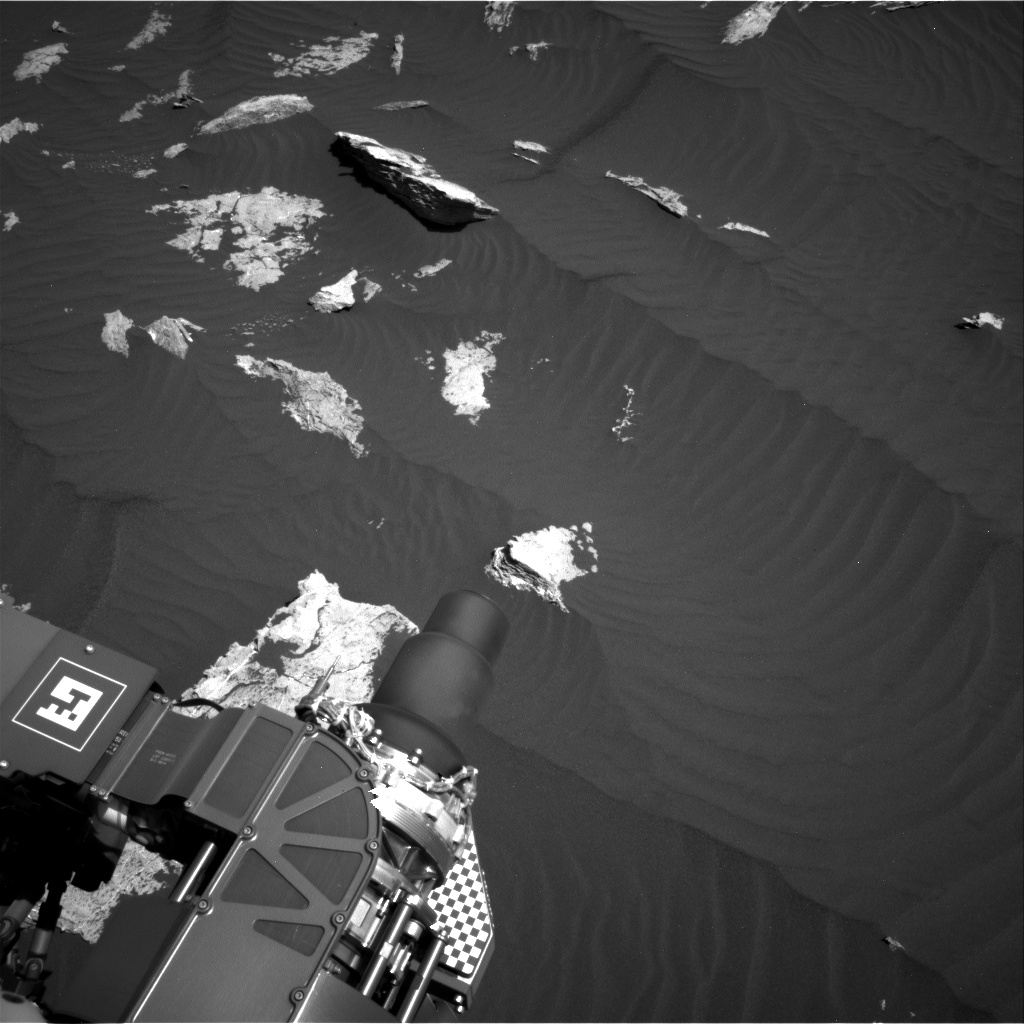 Nasa's Mars rover Curiosity acquired this image using its Right Navigation Camera on Sol 1578, at drive 888, site number 60