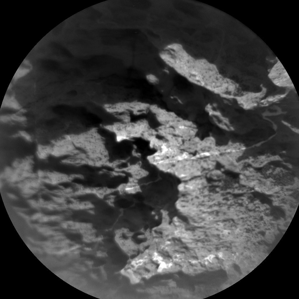 Nasa's Mars rover Curiosity acquired this image using its Chemistry & Camera (ChemCam) on Sol 1578, at drive 684, site number 60