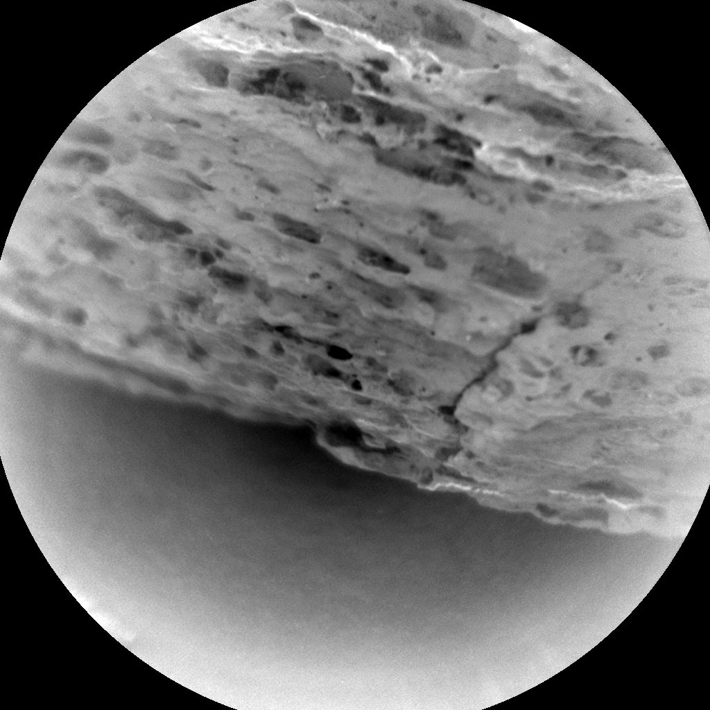 Nasa's Mars rover Curiosity acquired this image using its Chemistry & Camera (ChemCam) on Sol 1580, at drive 888, site number 60