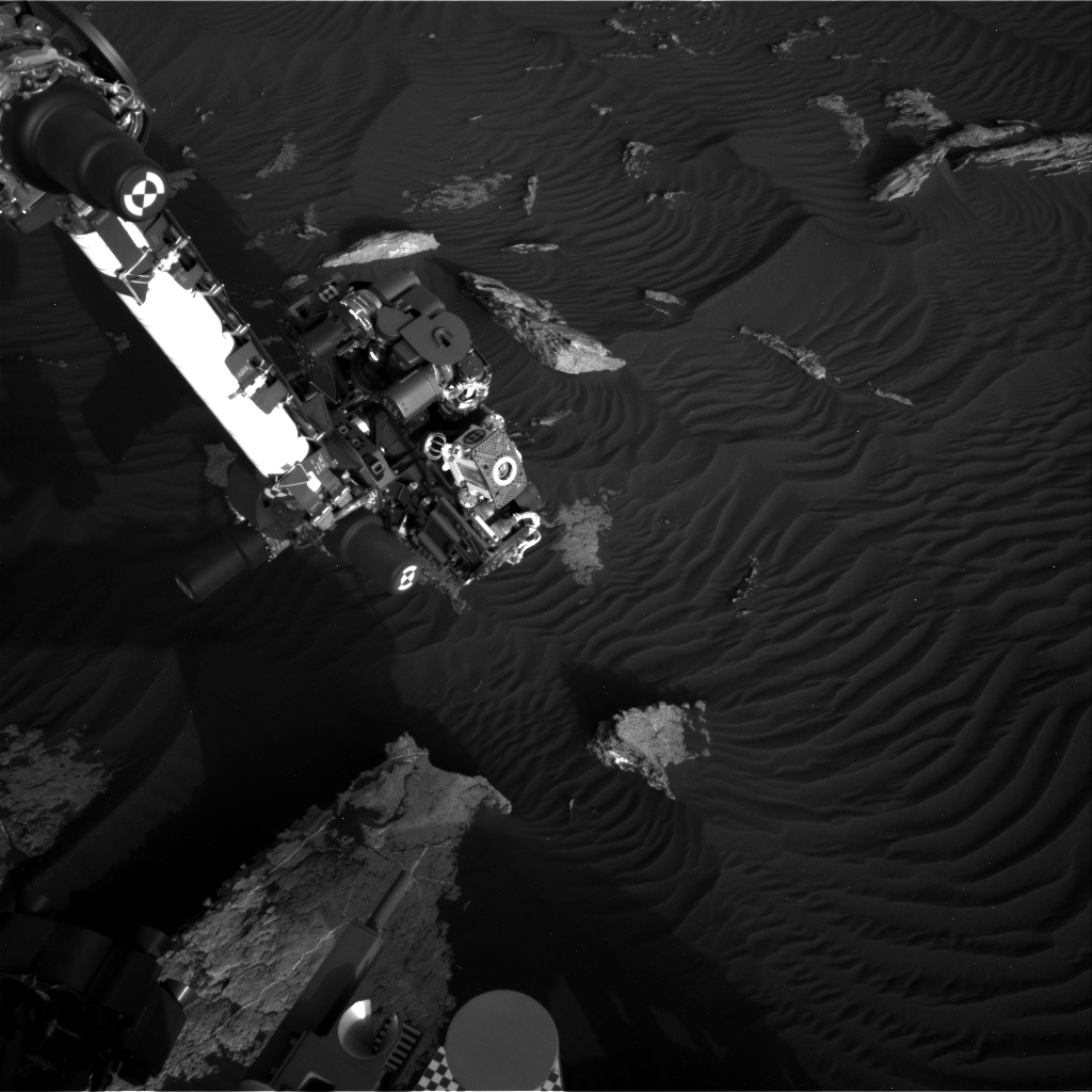 Nasa's Mars rover Curiosity acquired this image using its Right Navigation Camera on Sol 1581, at drive 888, site number 60