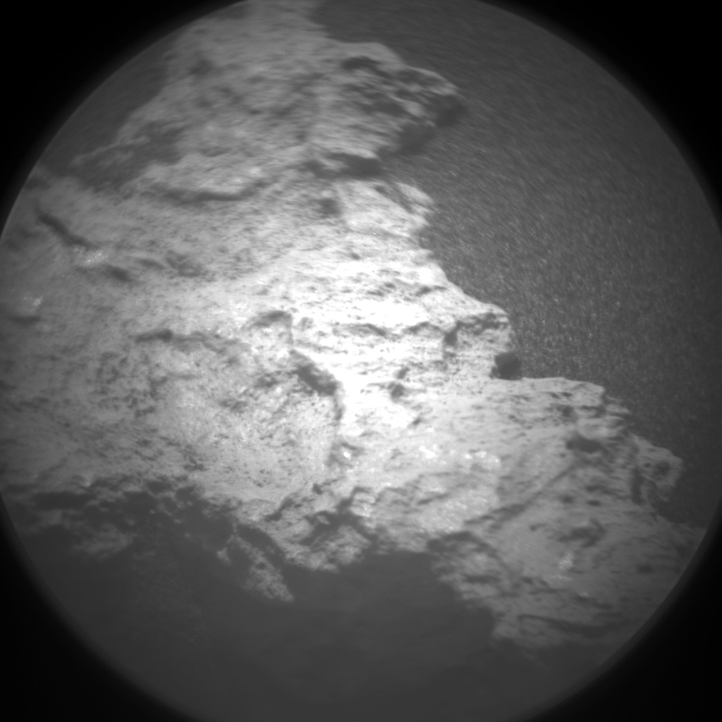 Nasa's Mars rover Curiosity acquired this image using its Chemistry & Camera (ChemCam) on Sol 1582, at drive 1266, site number 60