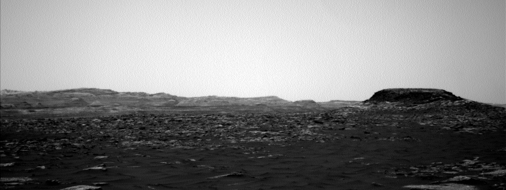 Nasa's Mars rover Curiosity acquired this image using its Left Navigation Camera on Sol 1582, at drive 888, site number 60