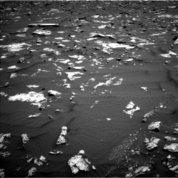 Nasa's Mars rover Curiosity acquired this image using its Left Navigation Camera on Sol 1582, at drive 954, site number 60