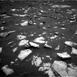 Nasa's Mars rover Curiosity acquired this image using its Left Navigation Camera on Sol 1582, at drive 1014, site number 60