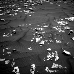Nasa's Mars rover Curiosity acquired this image using its Left Navigation Camera on Sol 1582, at drive 1110, site number 60