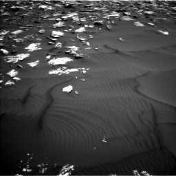Nasa's Mars rover Curiosity acquired this image using its Left Navigation Camera on Sol 1582, at drive 1134, site number 60