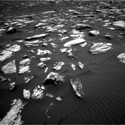 Nasa's Mars rover Curiosity acquired this image using its Left Navigation Camera on Sol 1582, at drive 1188, site number 60