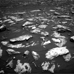 Nasa's Mars rover Curiosity acquired this image using its Left Navigation Camera on Sol 1582, at drive 1224, site number 60