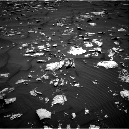 Nasa's Mars rover Curiosity acquired this image using its Right Navigation Camera on Sol 1582, at drive 1080, site number 60