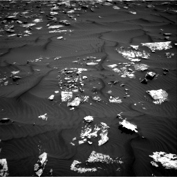 Nasa's Mars rover Curiosity acquired this image using its Right Navigation Camera on Sol 1582, at drive 1110, site number 60