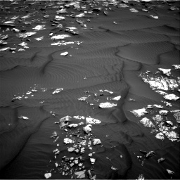 Nasa's Mars rover Curiosity acquired this image using its Right Navigation Camera on Sol 1582, at drive 1122, site number 60