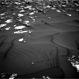 Nasa's Mars rover Curiosity acquired this image using its Right Navigation Camera on Sol 1582, at drive 1134, site number 60
