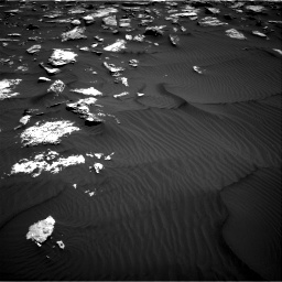 Nasa's Mars rover Curiosity acquired this image using its Right Navigation Camera on Sol 1582, at drive 1146, site number 60