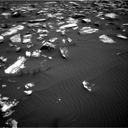Nasa's Mars rover Curiosity acquired this image using its Right Navigation Camera on Sol 1582, at drive 1176, site number 60