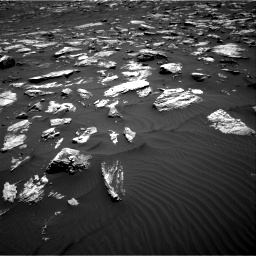 Nasa's Mars rover Curiosity acquired this image using its Right Navigation Camera on Sol 1582, at drive 1188, site number 60