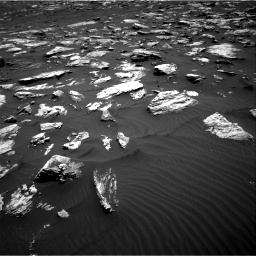 Nasa's Mars rover Curiosity acquired this image using its Right Navigation Camera on Sol 1582, at drive 1194, site number 60