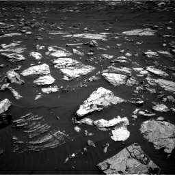 Nasa's Mars rover Curiosity acquired this image using its Right Navigation Camera on Sol 1582, at drive 1254, site number 60