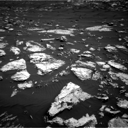 Nasa's Mars rover Curiosity acquired this image using its Right Navigation Camera on Sol 1582, at drive 1266, site number 60