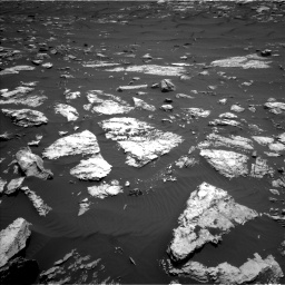 Nasa's Mars rover Curiosity acquired this image using its Left Navigation Camera on Sol 1583, at drive 1266, site number 60