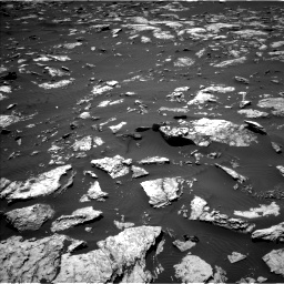 Nasa's Mars rover Curiosity acquired this image using its Left Navigation Camera on Sol 1583, at drive 1320, site number 60