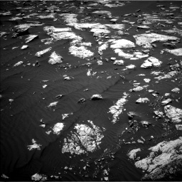 Nasa's Mars rover Curiosity acquired this image using its Left Navigation Camera on Sol 1583, at drive 1380, site number 60