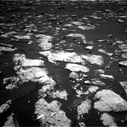 Nasa's Mars rover Curiosity acquired this image using its Left Navigation Camera on Sol 1583, at drive 1404, site number 60