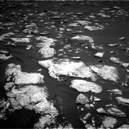 Nasa's Mars rover Curiosity acquired this image using its Left Navigation Camera on Sol 1583, at drive 1410, site number 60