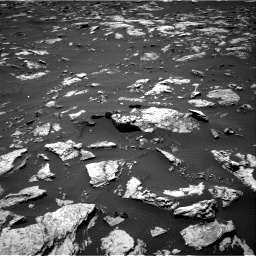 Nasa's Mars rover Curiosity acquired this image using its Right Navigation Camera on Sol 1583, at drive 1320, site number 60