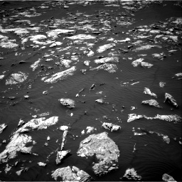 Nasa's Mars rover Curiosity acquired this image using its Right Navigation Camera on Sol 1583, at drive 1350, site number 60
