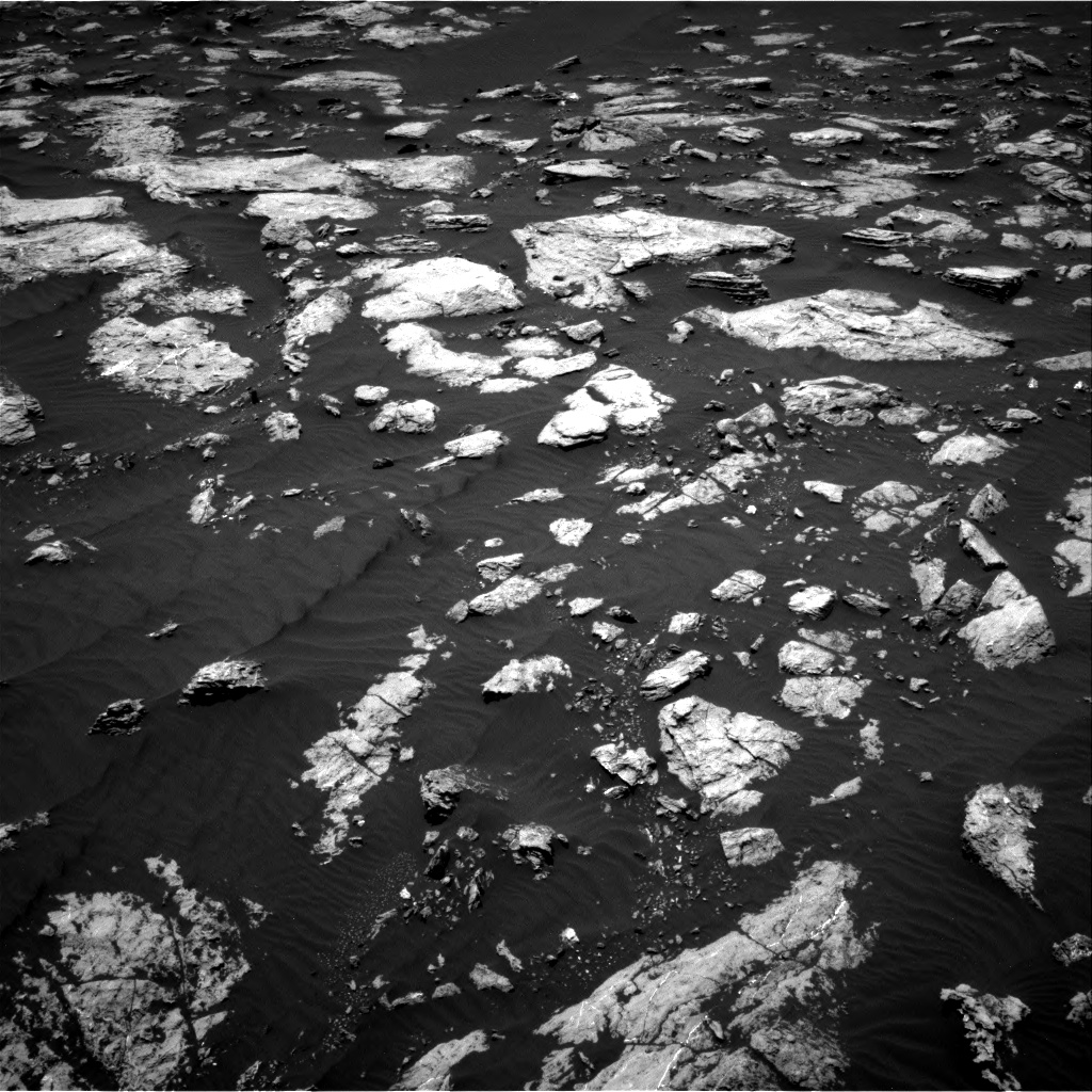 Nasa's Mars rover Curiosity acquired this image using its Right Navigation Camera on Sol 1583, at drive 1386, site number 60