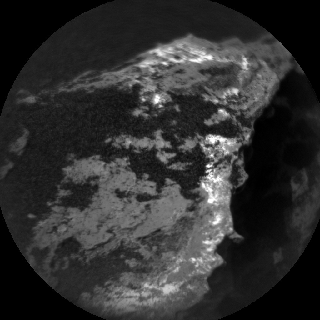 Nasa's Mars rover Curiosity acquired this image using its Chemistry & Camera (ChemCam) on Sol 1583, at drive 1266, site number 60