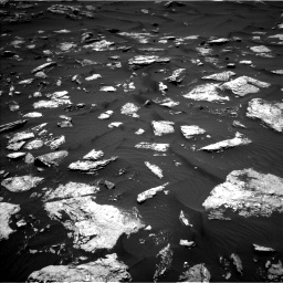 Nasa's Mars rover Curiosity acquired this image using its Left Navigation Camera on Sol 1584, at drive 1434, site number 60