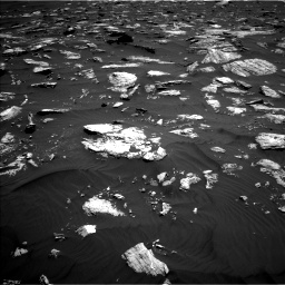 Nasa's Mars rover Curiosity acquired this image using its Left Navigation Camera on Sol 1584, at drive 1488, site number 60