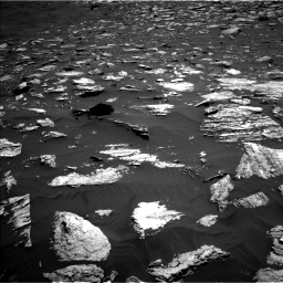 Nasa's Mars rover Curiosity acquired this image using its Left Navigation Camera on Sol 1584, at drive 1512, site number 60