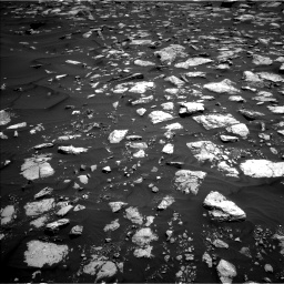 Nasa's Mars rover Curiosity acquired this image using its Left Navigation Camera on Sol 1584, at drive 1608, site number 60
